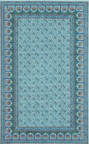 Tapestries Jaipur Elephant - Turquoise - Tapestry 001211