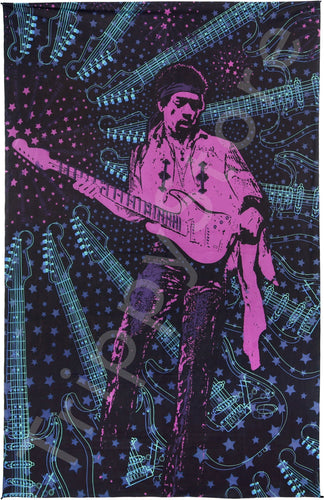 Tapestries Jimi Hendrix - Guitar Style - Tapestry 013543