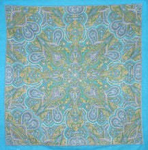 Load image into Gallery viewer, Tapestries blue Kaleidoscope - Small Tapestry 005171