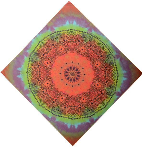 Tapestries Kaleidoscope - Tie-Dye - Small Tapestry 010643