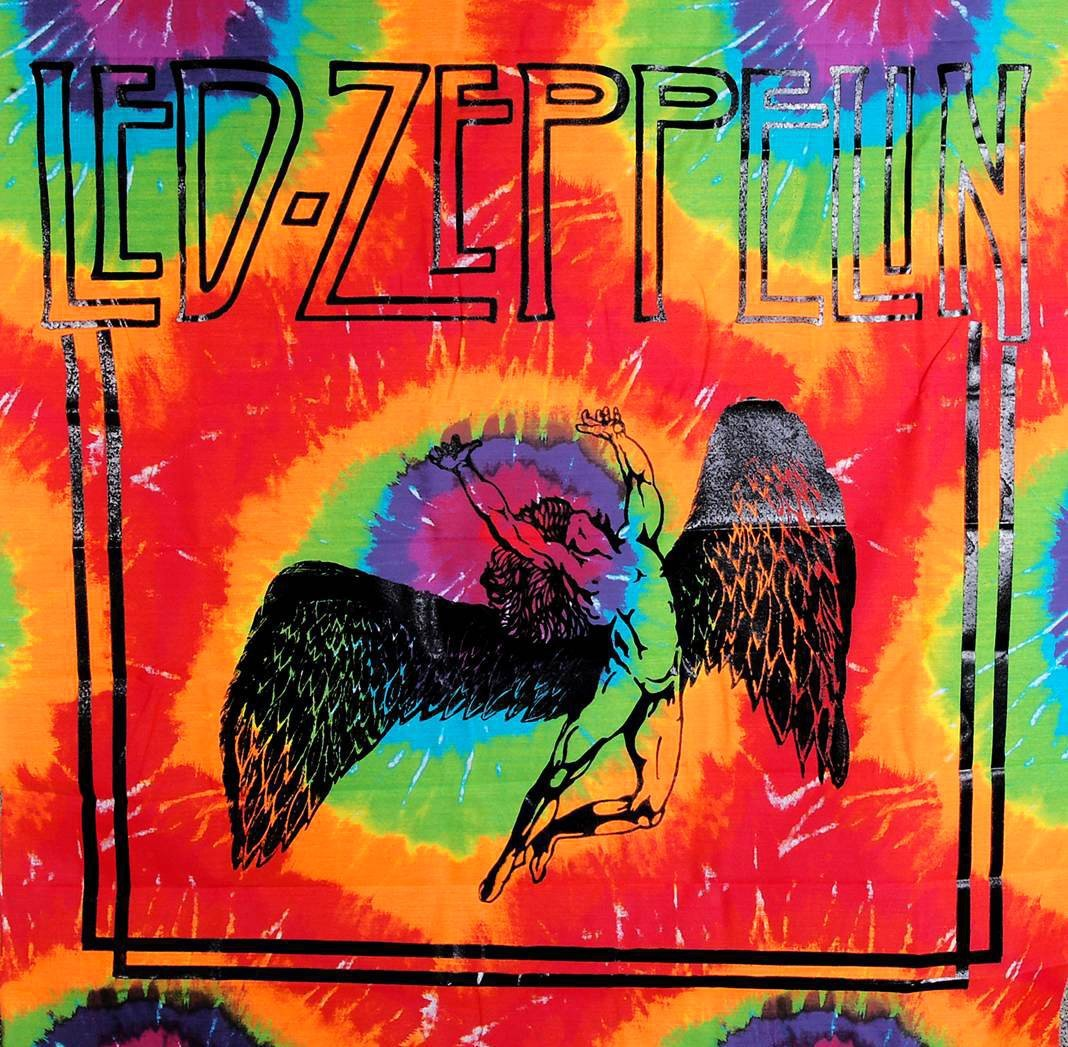 Tapestries Led Zeppelin - Swan Song - Tie-Dye - Tapestry 001690
