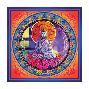 Tapestries Lotus Buddha - Small Tapestry 100918