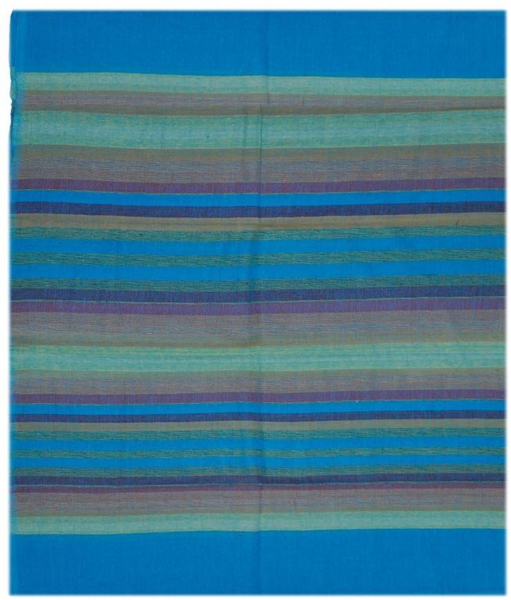 Tapestries Madras Striped - Blue - Tapestry 100054