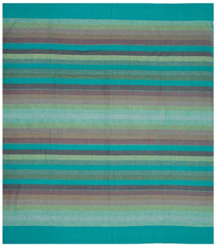 Tapestries Madras Striped - Green - Tapestry 100055