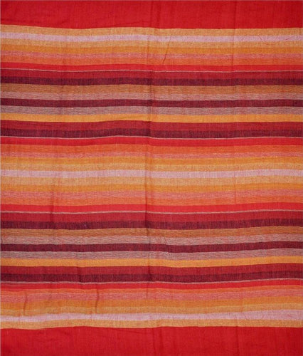 Tapestries Madras Striped - Red - Tapestry 009608