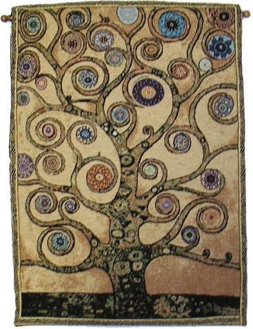 Tapestries Mandala Tree of Life - Orange - Rod Tapestry 005646