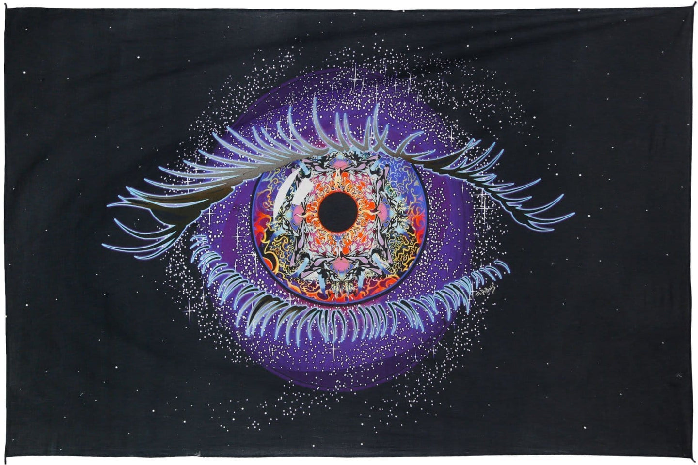 Tapestries Mike DuBois - Cosmic Eye - Tapestry 010263