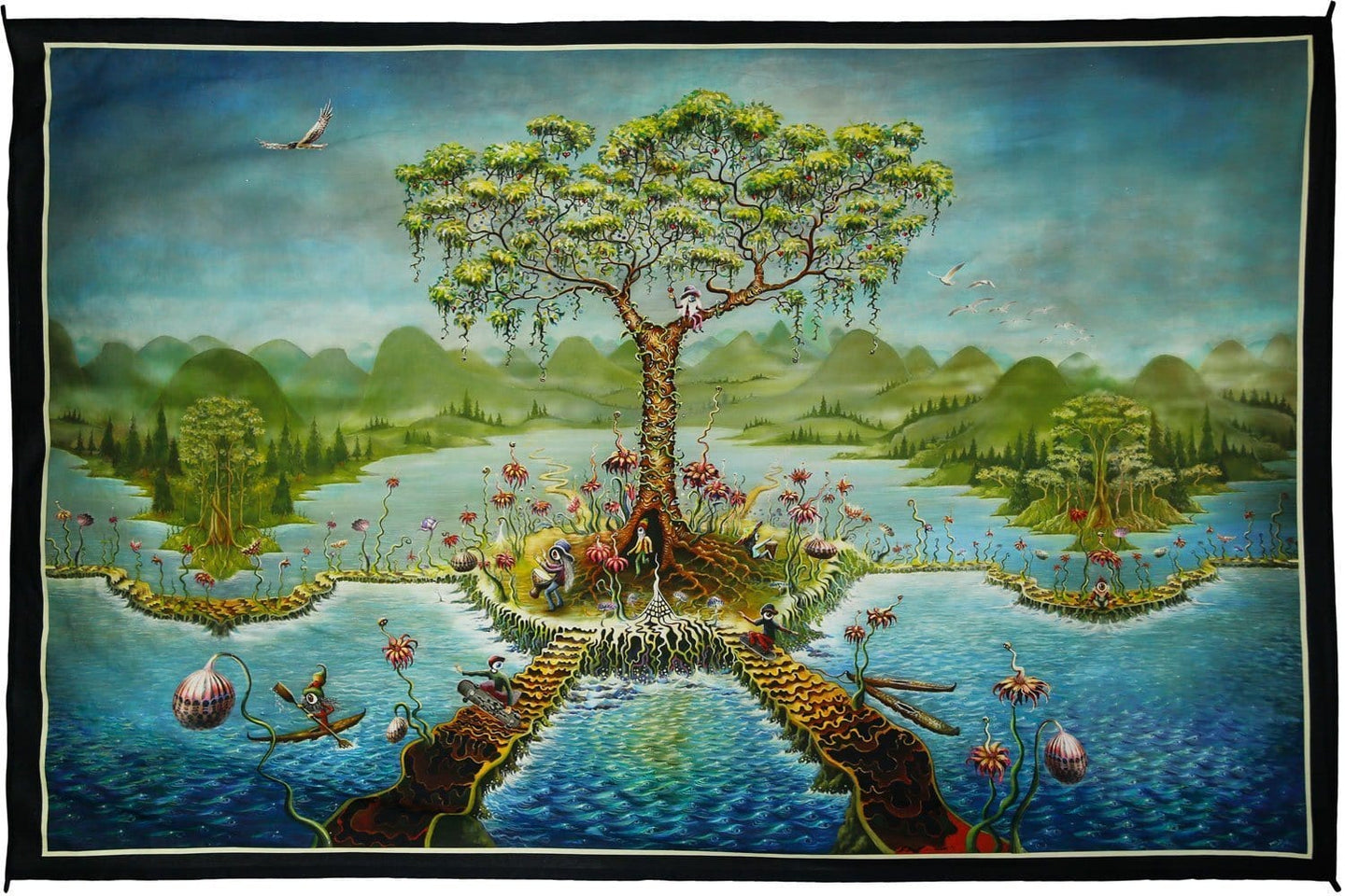 Tapestries Mike DuBois - Eyeland - Tapestry 010255