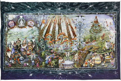 Tapestries Mike DuBois - Forest Friends - Tapestry 010265