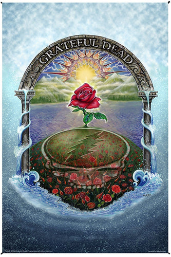Tapestries Mike Dubois - Grateful Dead - Rose Garden - Tapestry 010248