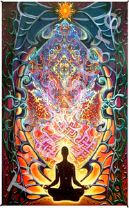 Tapestries Mike DuBois - Meditation - Tapestry 013595