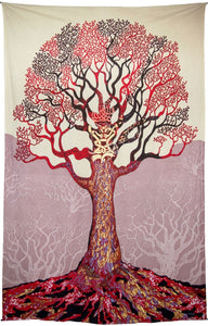 Tapestries Mike DuBois - Psychedelic Celtic Tree - Tapestry 100608