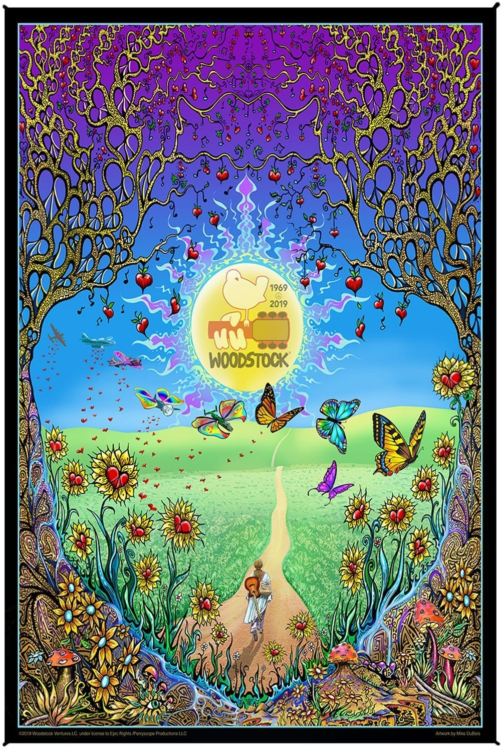 Tapestries Mike Dubois - Woodstock - Back to the Garden - Tapestry 100093