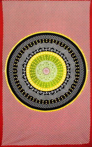 Tapestries Modern Circle Mandala - Tapestry 000228