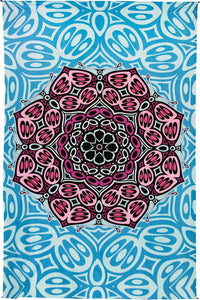 Tapestries Moth Mandala - Tapestry 100606