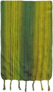 Tapestries Green/Yellow Multi-Color Stripes - Tapestry 009588