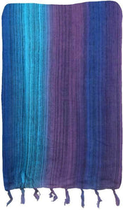 Tapestries Purple/Blue Multi-Color Stripes - Tapestry 009590
