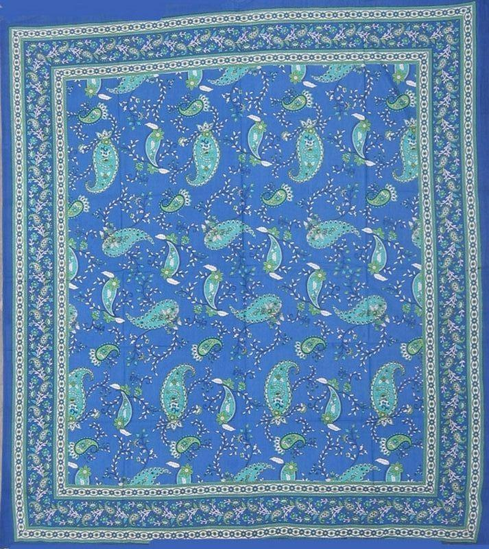 Tapestries Paisley Vines - Blue - Tapestry 006115