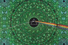 Load image into Gallery viewer, Tapestries green Pink Floyd - Dark Side of the Moon Lyrics - Tapestry 007433