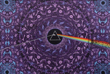 Load image into Gallery viewer, Tapestries purple Pink Floyd - Dark Side of the Moon Lyrics - Tapestry 007434