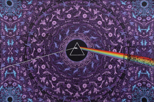 Tapestries purple Pink Floyd - Dark Side of the Moon Lyrics - Tapestry 007434