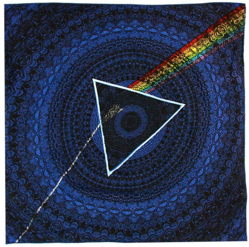 Tapestries Pink Floyd - Dark Side of the Moon Shadow - Blue - Small Tapestry 100098