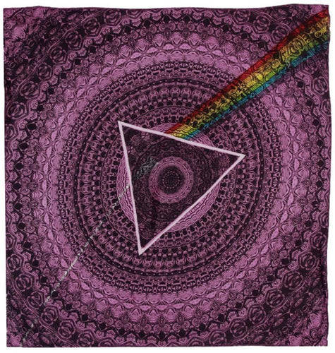Tapestries Pink Floyd - Dark Side of the Moon Shadow - Purple - Small Tapestry 100100