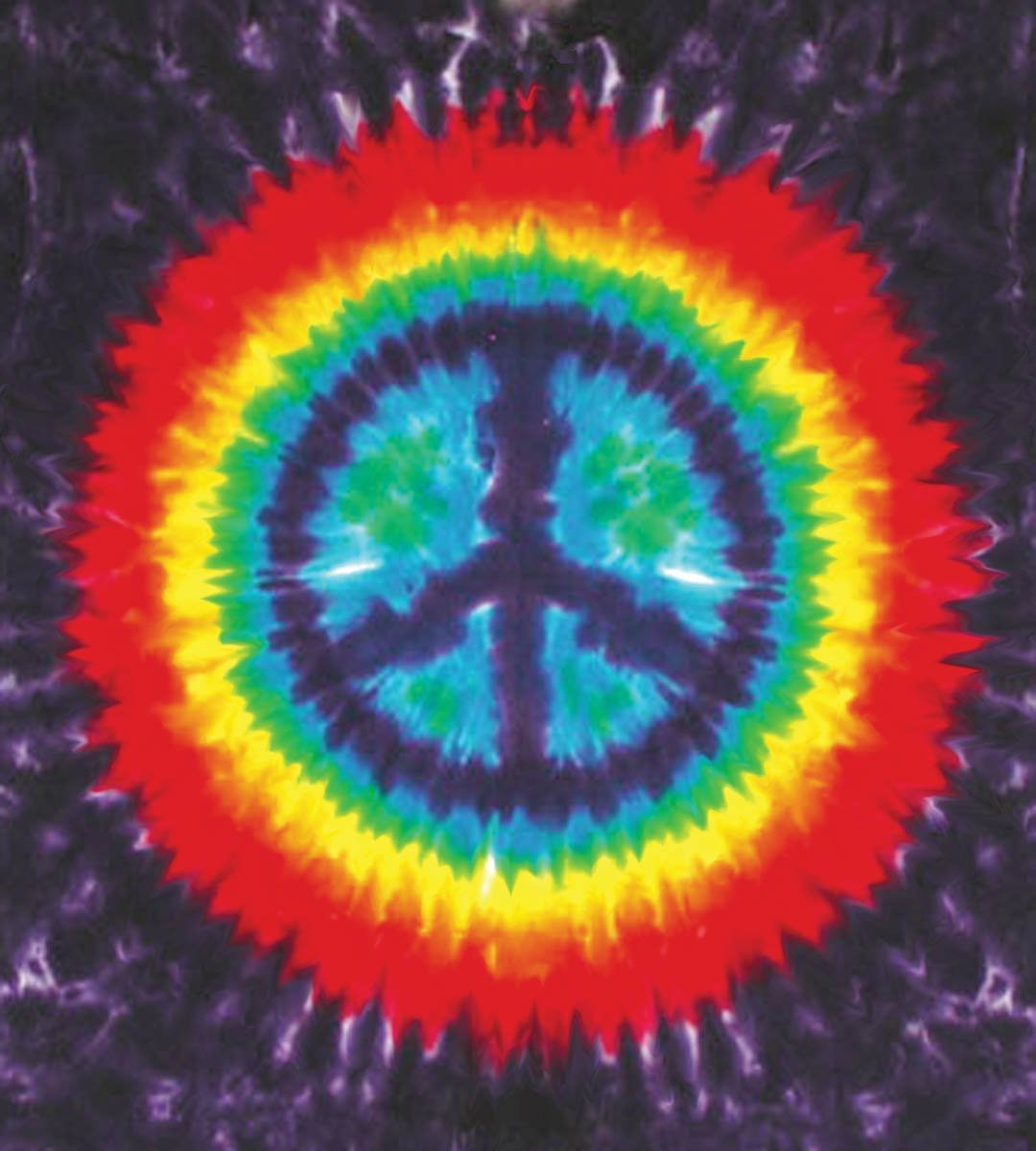 Tapestries Purple Peace - Tie-Dye - Tapestry 000245