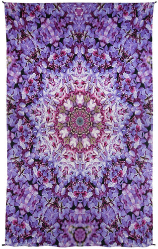 Tapestries Purple Petals Mandala - Tapestry 100029