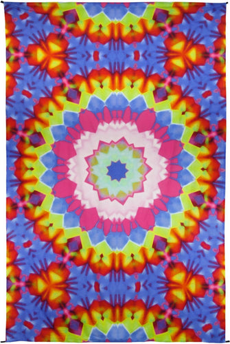 Tapestries Rainbow Kaleidoscope Mandala - Tapestry 100029