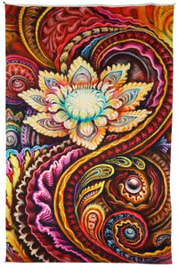 Tapestries Randal Roberts - Flower Power - Tapestry 010258
