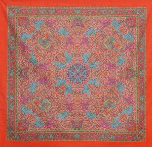 Tapestries Sheer Elephant - Orange - Small Tapestry 005166
