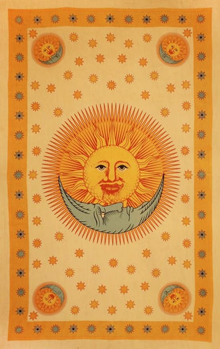 Tapestries Solar Eclipse - Gold - Tapestry 100369