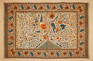 Tapestries Tree of Life - Beige and Orange - Tapestry 100059
