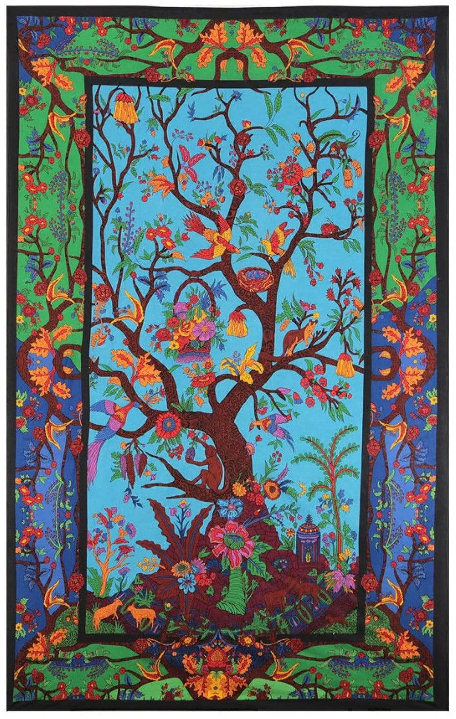 Tapestries Tree of Life - Multi-Color - Tapestry 007387