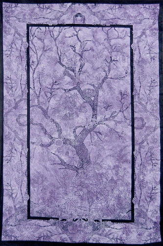 Tapestries Tree of Life - Purple Tie-Dye - Tapestry 100103