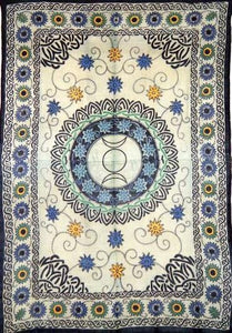 Tapestries Triple Moon Celtic Sunflower - Tapestry 007220