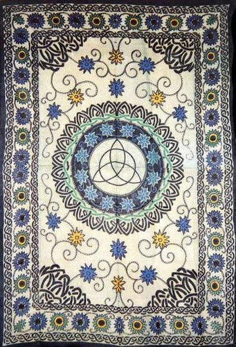 Tapestries Triquetra Celtic Sunflower - Tapestry 007221