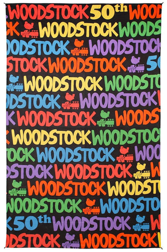 Tapestries Woodstock 50th Anniversary Logo - Tapestry 100025