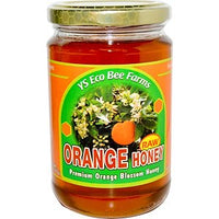 Y.S. Eco Bee Farms, Orange Honey, 13.5 oz (383 g) - TheVedicStore.com