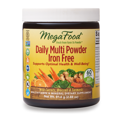 Daily Multi Powder Iron Free - TheVedicStore.com