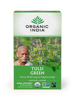 Tulsi Tea Green (18 count) - Organic India