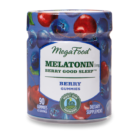 Gummy - Melatonin Berry Good Sleep*- Berry - TheVedicStore.com
