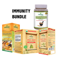 Immunity Support Juice/Powder Bundle : Vedic - Immune Boost - TheVedicStore.com