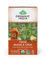 Tulsi Tea Chai Masala (18 count) - Organic India