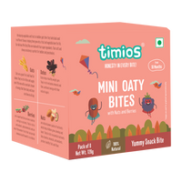 Mini Oaty Bites (Nuts & Berries) - TheVedicStore.com