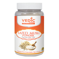 Vedic Safed Musli Powder | Supports Healthy Male Reproductive System