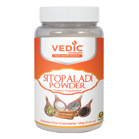 Vedic Sitopaladi Powder | Supports Healthy Respiratory System