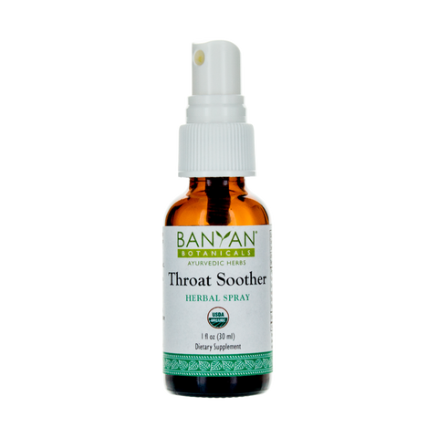 Throat Soother herbal spray - TheVedicStore.com