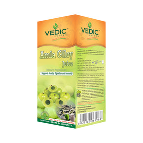 Vedic Amla Giloy Juice | Supports Healthy Digestion & Immune System